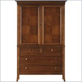 Stanley Furniture Hudson Street Warm Cocoa Door Chest w/ Light Distressing