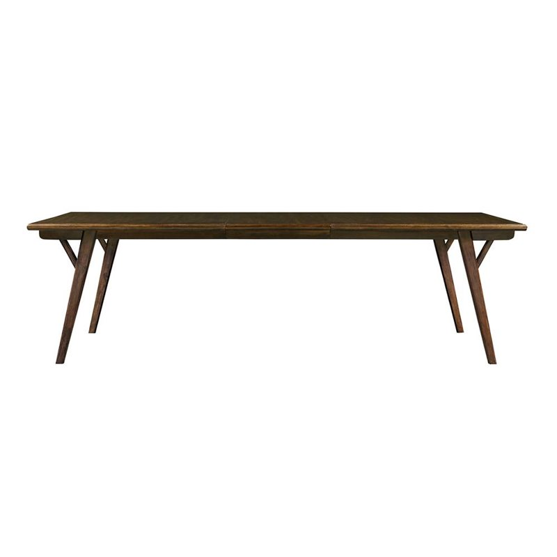 Stanley Furniture Santa Clara Dining Table in Burnished Walnut