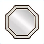 Stanley Furniture Hudson Street Dark Espresso Octagonal Mirror