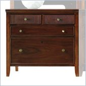 Stanley Furniture Hudson Street 4 Drawer Lateral Wood File Storage Cabinet in Cocoa