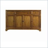 Stanley Furniture Continuum Wood Buffet in Candlelight Cherry
