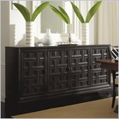 Stanley Furniture Continuum Wood Buffet in Java Finish