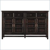 Stanley Furniture Modern Craftsman Midcentury Buffet in Mink