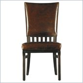 Stanley Furniture Modern Craftsman Morris School Side Chair in Mink