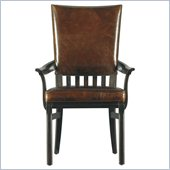 Stanley Furniture Modern Craftsman Morris School Arm Chair in Mink