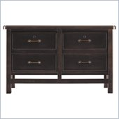Stanley Furniture Modern Craftsman Founder's Cabinet in Mink