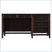 Stanley Furniture Modern Craftsman Woodworker's Drawer Front Desk