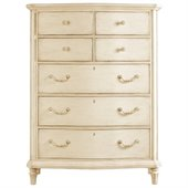 Stanley Furniture Portfolio European Cottage Chest in White