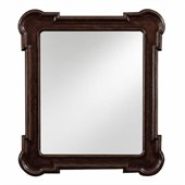 Stanley Furniture European Farmhouse Fluted Edge Mirror in Terrian
