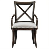Stanley Furniture European Farmhouse Host Chair in Terrian