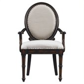 Stanley Furniture European Farmhouse Hostess Chair in Terrian