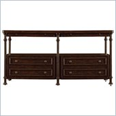 Stanley Furniture European Farmhouse Patron's Console in Terrian