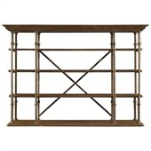 Stanley Furniture European Farmhouse Open Air Shelf in Blond