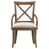 Stanley Furniture European Farmhouse Host Chair in Blond