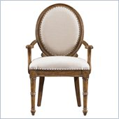 Stanley Furniture European Farmhouse Hostess Chair in Blond