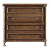 Stanley Furniture European Farmhouse Patron's Cabinet in Blond