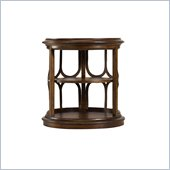 Stanley Furniture Archipelago Monserrat Drum Accent End Table in Fathom
