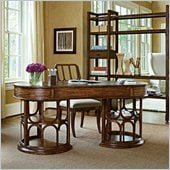 Stanley Furniture Archipelago Monserrat Writing Desk in Fathom
