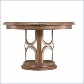 Stanley Furniture Archipelago Monserrat Round Pedestal Table in Shoal