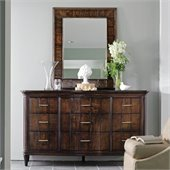 Stanley Furniture Avalon Heights Swingtime Dresser and Mirror Set in Chelsea