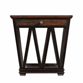 Stanley Furniture Avalon Heights Empire Drawer End Table in Chelsea