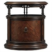 Stanley Furniture Costa Del Sol Volute Capstan Accent Table in Cordova