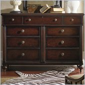 Stanley Furniture British Colonial Dresser in Dark Shell