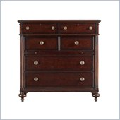 Stanley Furniture British Colonial Media Chest in Dark Shell