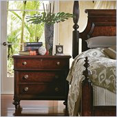 Stanley Furniture British Colonial Bachelor's Chest in Dark Shell
