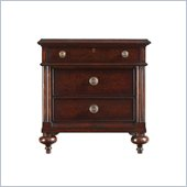 Stanley Furniture British Colonial Night Stand in Dark Shell