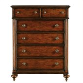 Stanley Furniture British Colonial Drawer Chest in Caribe