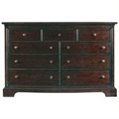 Stanley Furniture Transitional Dresser Polished in Sable