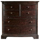 Stanley Furniture Transitional Media Chest Polished in Sable
