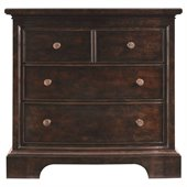 Stanley Furniture Transitional Bachelor's Chest Polished in Sable