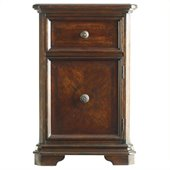 Stanley Furniture Continental Night Stand in Barrel