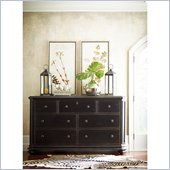 Stanley Furniture Continental Triple Dresser in Ebony