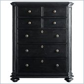 Stanley Furniture Continental Drawer Chest in Ebony