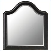 Stanley Furniture Continental Landscape Mirror in Ebony
