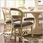 Stanley Furniture Modern Side Chair in Alabaster