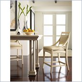 Stanley Furniture Modern Counter Stool in Alabaster