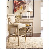 Stanley Furniture Modern Bar Stool in Alabaster