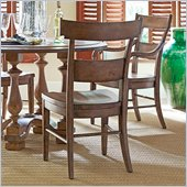 Stanley Furniture Old World Wood Side Chair in Shoal