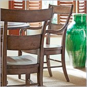 Stanley Furniture Old World Wood Arm Chair in Shoal