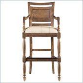Stanley Furniture Old World Bar Stool in Shoal