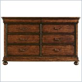 Stanley Furniture Louis Philippe Dresser in Burnished Honey