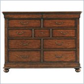 Stanley Furniture Louis Philippe Dressing Chest in Burnished Honey