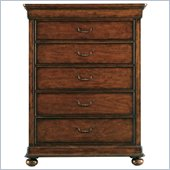 Stanley Furniture Louis Philippe Chest in Burnished Honey