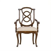Stanley Furniture Arrondissement Tuileries Arm Chair in Heirloom Cherry