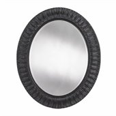 Stanley Furniture Arrondissement Jardin Mirror in Rustic Charcoal