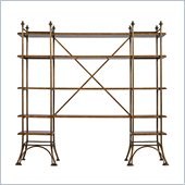 Stanley Furniture Arrondissement Eiffel Etagere in Sunlight Anigre